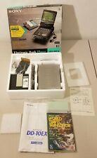 NEW - Sony - DD-10EX, Multi Media, Data-Discman -Book Player- UN-Tested - READ