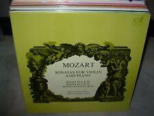 KOVACS / BACHER / MOZART sonatas for violin & piano 301 ( classical ) - SEALED -