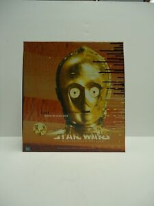 Star Wars Masterpiece Edition C-3PO Tales of the Golden Droid Book & Figure NEW
