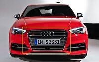 Neuf Original Audi A3/S3 (2013-2017) Avant Pare-Choc Radiateur Grille