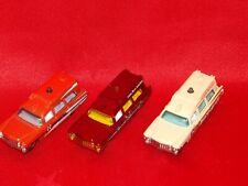 Matchbox MB780 1963 Cadillac Ambulance x 3 Variants 1/81