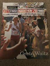Vintage GRETE WAITZ Magazine Photo Print 1978 MARATHON TRACK & FIELD RARE