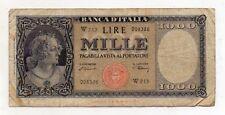 """ITALIA  - 20.03.1947 - 1.000 lire - """"TESTINA"""" - """"R3"""" - W SOSTITUTIVA - (FDC7975)"""
