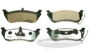 Disc Brake Pad Set-Semi-metallic Pads Front Tru Star PPM633