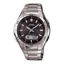 Casio Men's WVAM640D-1A Waveceptor Black Dial Analog-Digital Watch