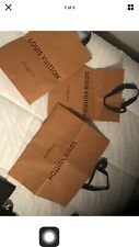 3 Louis Vuitton  Shopping Bags