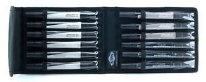 Prismacolor Premier Art Markers French Grey Colors Set 12pc Alvin Prestige Case