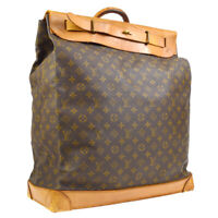 LOUIS VUITTON STEAMER 45 TRAVEL HAND BAG 873A2 MONOGRAM VINTAGE M41126 35772