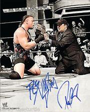 Paul Heyman & RVD (Rob Van Dam)  8 x 10 Autograph Reprint  WWE Superstar