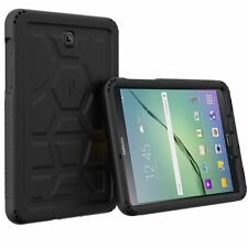 Poetic Turtle Skin Rugged Bumper Case Cover for Samsung Galaxy Tab S2 8.0 Black