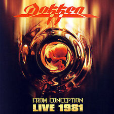 DOKKEN - From Conception: Live 1981 [Remaster] - (CD, Mar-2007, Rhino)-NEW