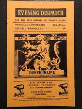 1.1.59. Raith Rovers v Dunfermline, (Scottish League).