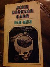 DEATH WATCH By John Dickson Carr Collier Books vintage crime pb
