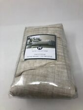 Hotel Collection Modern Colonnade Quilted Euro Sham Cream Beige 374