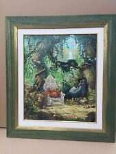 James Coleman Disney art I wannna be like you Giglee on canvas #3 of 150 #35