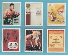 SPORTING PROFILES - SET OF L20 BOXING CARDS  -  SMOKIN'  JOE  FRAZIER  -  2005