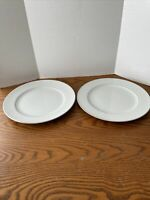 "Crown Victoria Fine China Lovelace Dinner Plate 10.25"" Set Of 2"
