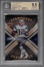 2008 Upper Deck Star Quest Rainbow Gold #SQ29 Tom Brady BGS 9.5 Patriots 1958