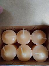 PartyLite Votive Candles Summer Peach 6 Pk