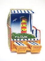 Pilsum Leuchtturm Krummhörn 3D Poly Fridge Magnet Souvenir Germany