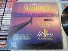 Music For A Summer Evening By Gene Bianco (Vinyl 1963) Record Album Lp 33 Used