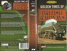 BTF Golden Times of British Railways VHS Cab Ride Steam Rare Film 1947 Pullman