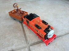 Thomas Trackmaster Nia train with truck & monkey (battery operated). New type