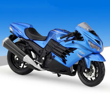 1:18 Maisto Kawasaki 14R Motorcycle Bike Model Blue New in box