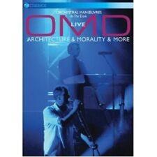 "OMD ""LIVE - ARCHITECTURE & MORALITY & MORE"" DVD NEU"