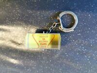 porte clé vintage shell effet d optique rouleau