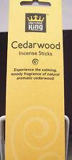 Incense King Premium Incense Cedarwood Bulk Buy 10 Packs 15 Grams Each 120 Stick
