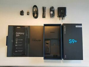 Samsung Galaxy S9+/PLUS - 64GB - Midnight Black (Unlocked) (Single SIM) BOXED!