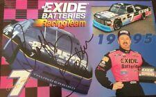 GEOFF BODINE SIGNED AUTOGRAPHED NASCAR 8X10 PHOTO EXIDE BATTERIES #7