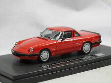 Milena Rose 1986 Alfa Romeo Spider Serie 3 Aerodinamica Hardtop Rosso Alfa 1/43