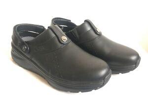 JOYA IQ SR Black Damen Schuhe Pantoffel Blogs schwarz Gr. 39 - neuwertig