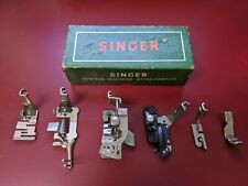 6 Vintage Singer Sewing Machine Attachments For Class 301 Machines #160623