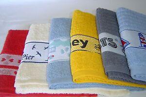 Modern Fun 100% Cotton Kitchen Hand/Tea Towels.