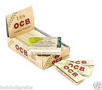 CARTINE OCB ORGANIC HEMP CORTE C-A-N-A-P-A BIOLOGICA 25 LIBRETTI - 1 1/4.