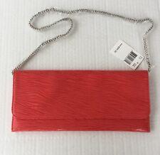 New Carlos Falchi Bag  Clutch Coral Textured