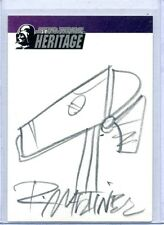 DROID 2004 Topps STAR WARS HERITAGE SKETCH CARD by RANDY MARTINEZ