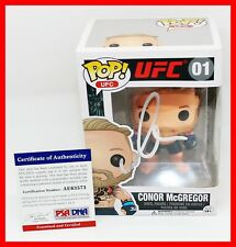 RARE CONOR McGREGOR Signed UFC MMA Figther Autographed Funko POP PSA JSA