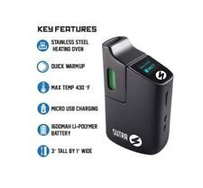 Sutra Mini Digital Dry Herb1 Waxy Dab Vaporizer1 100% Authentic from Retail shop