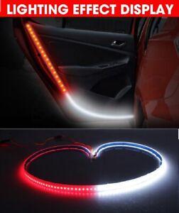 Anti-collision CAR SUV VAN TAXI Door Flashing LED Strobe light Set 2pcs