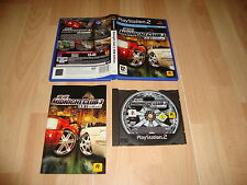 Midnight club 3 Dub Edition de Rockstar Games para la Sony PS2 usado completo