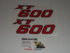 XT 600Z TENERE 1983 TYPE 34L YAMAHA  EMBLÈMES COMPATIBLE CACHES LATERAUX