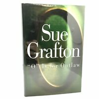 1st Edition/1st Printing SIGNED Fine/Fine O is For Outlaw Sue Grafton