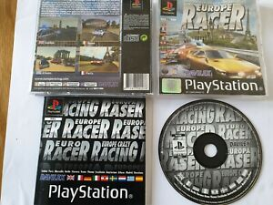 Europe Racer Sony PlayStation 1 PS1 Game Complete FREE UK POSTAGE