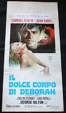 Locandina - Il dolce corpo di Deborah di Romolo Guerrieri, con Carroll Baker