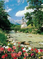 Puzzle Pappe Trefl 3000 Teile Berge - Ramsau Alpen Bayern NEU 33019