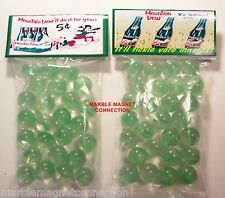 2 BAGS OF MOUNTAIN DEW SODA 5 CENT 6 PACK ADVERTISING PROMO MARBLES
